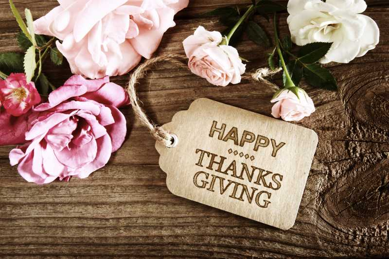 Services Gift Cards - Happy Thanks Giving