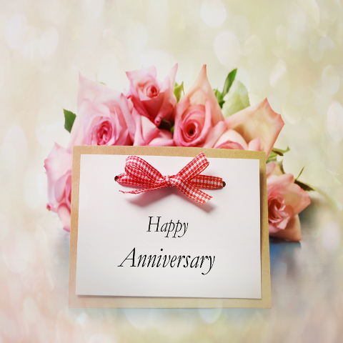 Services Gift Cards - Happy Anniversary