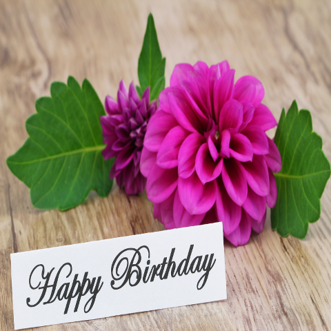Services Gift Cards - Happy Birthday